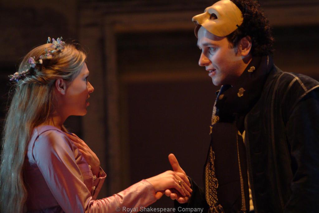 romeo and juliet masquerade ball scene